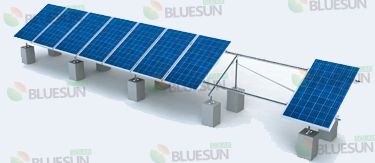 ground mount solar array