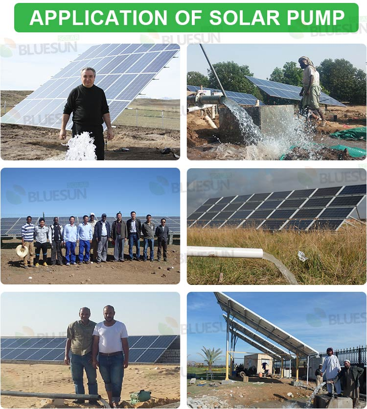 solar powered irrigation system project