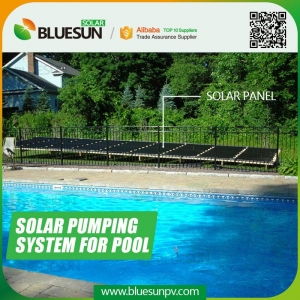 solar water pump for swimming pools