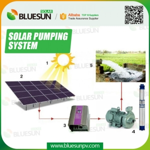solar powered water pump for irrigation