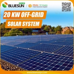 20KW off-grid solar power system 20000w solar system with battery