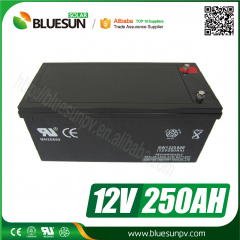 AGM 12V 250AH Lead Acid Battery Du Battery for Solar System