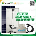 Grid yang diikat mikro solar system micro 250w pv inverter