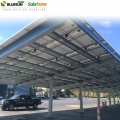 Modul pv solar ground mount racking