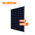 bluesun mono panel tunggal 500w 500watt 500wp modul panel surya pv