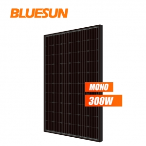 full black mono 280w 285watt 290wp 295w solar panel 300 w 295w solar module