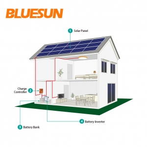 30KW off-grid solar power system 30000w solar system with battery