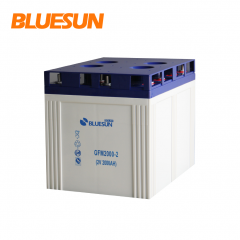 GEL 2V 2000AH Solar Battery aa Rechargeable for Solar Panel