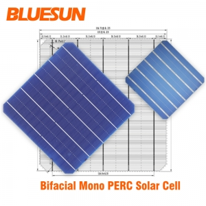 German technology 22% Efficiency Solar Cells Bificial PERC Solar Cell For Solar Panel