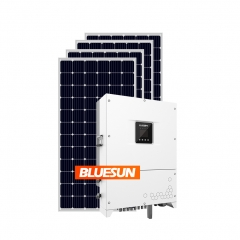 Bluesun 80kva Solar Power System 80Kw solar system on grid 100 kw solar panel system 80kw-Bluesun