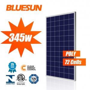 5BB Poly Solar Panel 345W 72 Cells Series