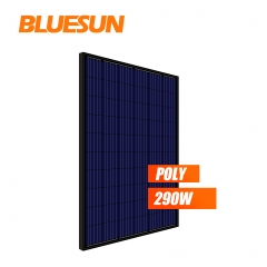 all black poly 270w 280watt 290wp 295w solar panel PV module