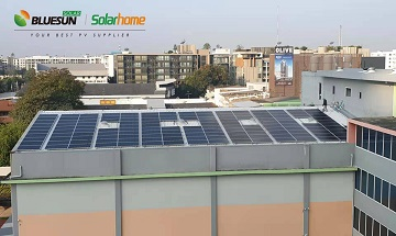 Bluesun 100KW Rootop Solar Projects In Thailand